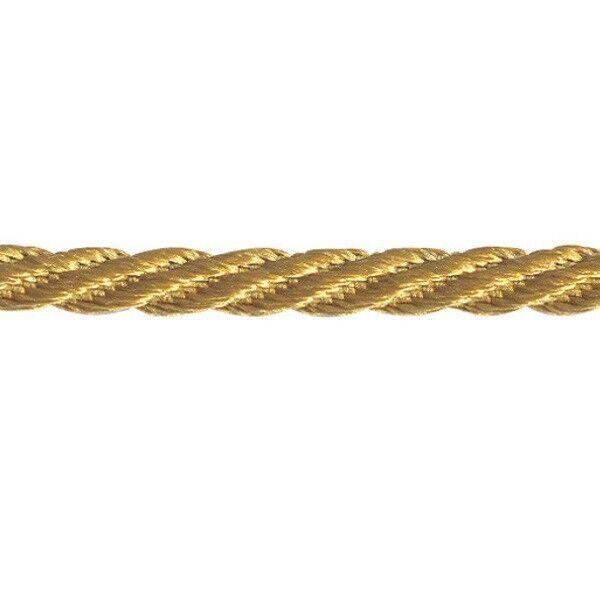 5m Colour Berisfords Barley Twist Rope Braided Cord 5mm Cream 50
