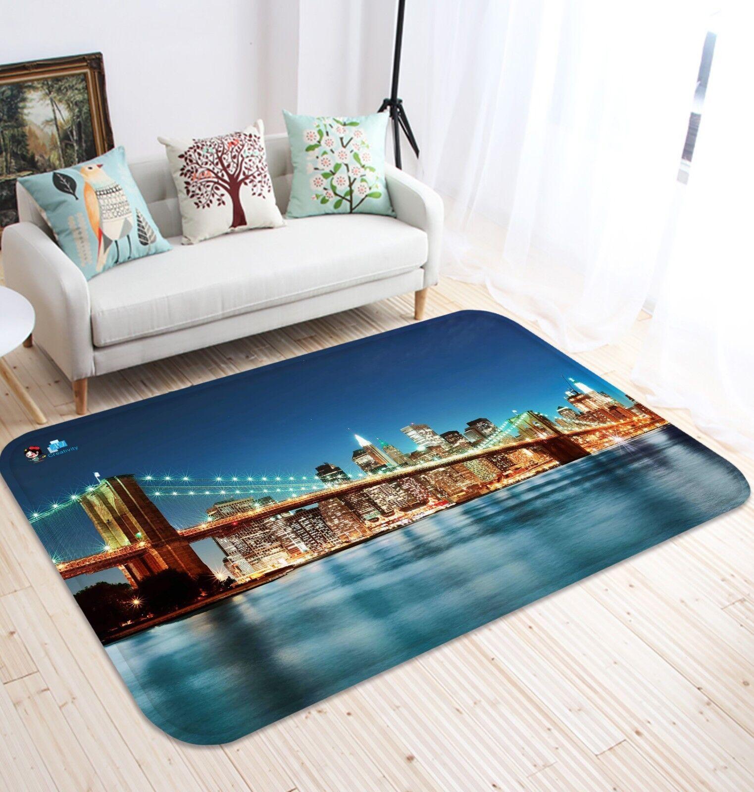 3D Bridge Soirée 1207 Étage Antidérapant Natte Natte Natte Élégant Tapis FR Summer   Outlet Online  4125f2