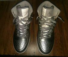 Nike Air Jordan I 1 Retro Anodized Metallic Silver Foamposite 414823-001 8.5