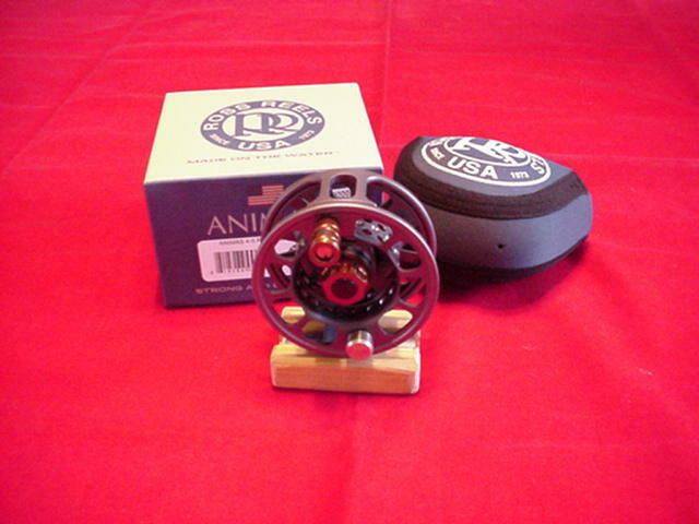 20 off Ross Animas #4/5 Fly Reel Granite Grey USA Made Closeout