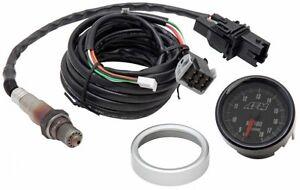 AEM-Analog-Face-Wideband-O2-UEGO-Gauge-amp-Sensor-Kit-Air-Fuel-Ratio-AFR-Meter