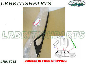 GENUINE LAND ROVER FRONT DOOR FINISHER B PILLAR RANGE R EVOQUE RH NEW LR050756