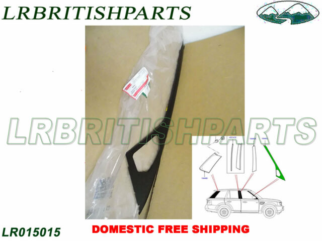 Genuine LAND ROVER REAR FINISHER PILLAR RANGE ROVER SPORT 2014 RH NEW LR043793