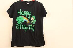 c979dbb6 St. Patricks Patty's Day Womens T Shirt Top Lucky Charm Happy ...