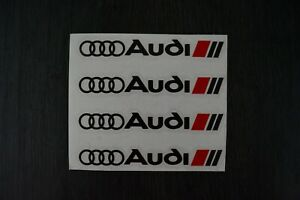 4-Pegatinas-sticker-decal-brake-caliper-Audi-Sline-pinzas-freno-11-5-cm-x-1-2-cm