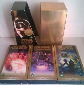Star Wars Trilogy Special Edition Box Set On VHS Video  PAL Region Videos - Oxford, United Kingdom - Star Wars Trilogy Special Edition Box Set On VHS Video  PAL Region Videos - Oxford, United Kingdom