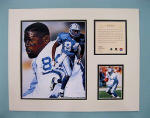 Detroit-Lions-HERMAN-MOORE-1996-NFL-Football-11x14-Matted-Lithograph-Print