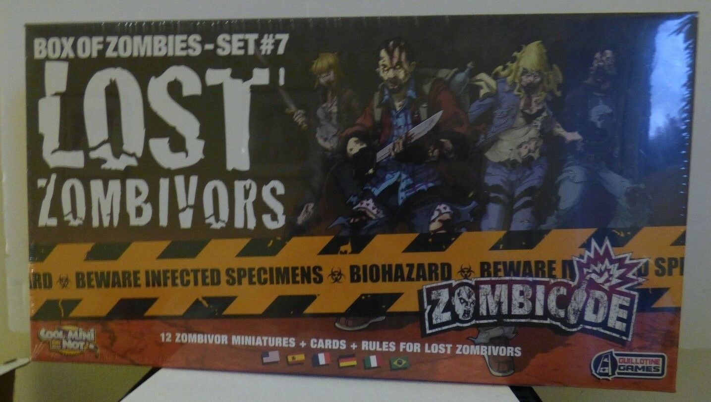 CMON   Guiiltine Games Zombicide Lost Zombivors Brand New & Sealed EXP