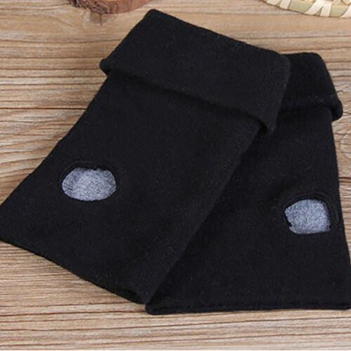 Fashion Anime Your Name Logo Gloves Cotton Knitting Fingerless Mitten Cosplay