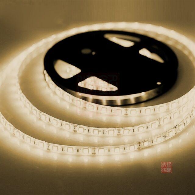 5M/10M 300/600 LED Strip Light 3528/5050 SMD Ribbon Tape Roll Waterproof IP65