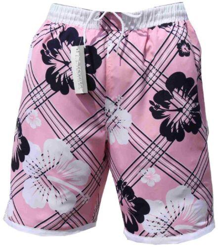 Unisexe bermuda bain secondé maillot rose pink hot pants s m l xl xxl xxxl 2xl 3xl