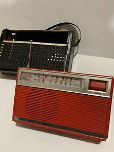 VINTAGE RITATONE 2-BAND  RADIO  AM(MW)-LW. 1960S-VERY RARE+CASE
