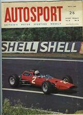 Autosport May 6th 1966 *Tulip Rally Mini Cooper Win*