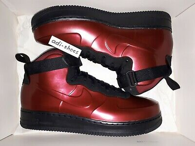 Details about NIKE AIR FORCE 1 FOAMPOSITE CUP TEAM REDBLACK US 9 12 pro AH6771 600