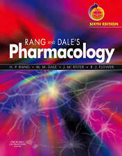 Rang and Dale's Pharmacology by Humphrey P. Rang, Maureen M. Dale, R. J Sixth Ed
