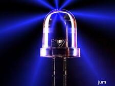 10 x  Led 10mm   Blau 30.000 mcd  sehr hell  / Abstrahl- Öffnungswinkel ca. 10°