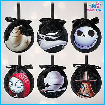 Tim Burton's The Nightmare Before Christmas Sketchbook Ornament 6pce Set