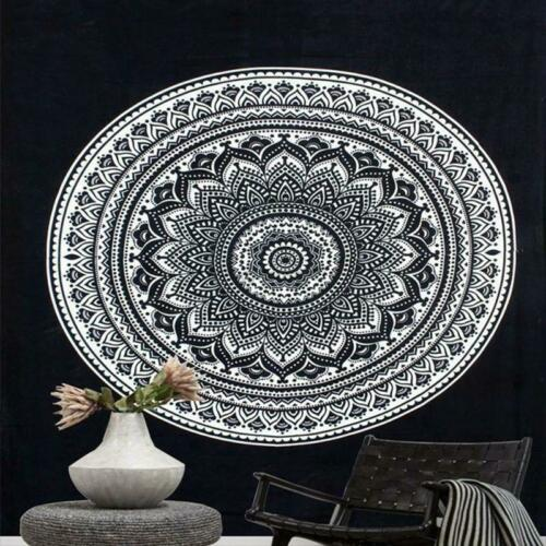 Mandala Tapestry Indian Wall Hanging Decor Bohemian Hippie Bed Cover Table Cloth