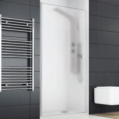 Box doccia nicchia cabina porta battente vetro cristallo trasparente opaco 190 H