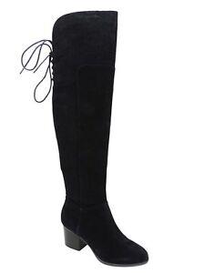 138fe55cabf7 ALDO Women s Jeffres Over The Knee Boots Black Suede Size 5 M ...