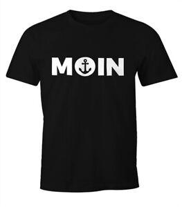 Cooles-Herren-T-Shirt-Moin-mit-Anker-Shirt-Moonworks