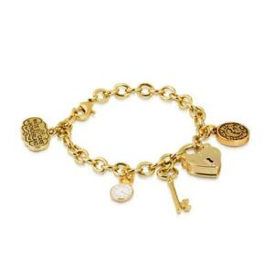 Disney-Couture-Sale-Alice-in-Wonderland-Key-Bracelet-YG-Plated-RRP-99-DYB0347
