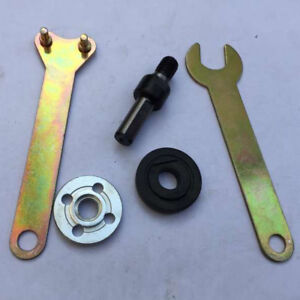KIT Arbor Mandrel Drill Adaptor For Grinder Cut Off Wheels Disc Shank Tool Sets