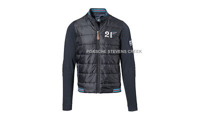 Porsche Men's Mix Jacket MARTINI RACING S M L XL XXL 3XL Dark Blue