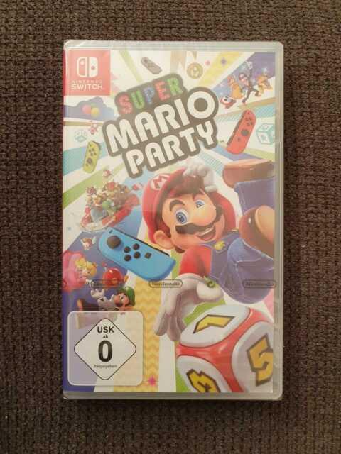 Super Mario Party - Nintendo Switch Sealed Neu OVP Eingeschweißt