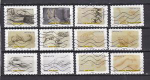 Serie-sellos-adhesivos-de-Francia-2015-Yvert-AD-1084-95