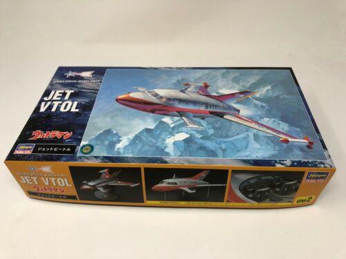Hasegawa Ultra Mecha Series Ultraman 1//72 JET VTOL Model Kit w//Tracking