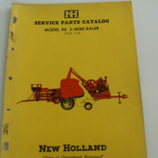 New Holland Model 98 3 Wire Baler Service Parts Catalog Oem 54 Pages