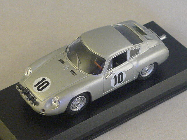 Best MODEL 9450 - Porsche Abarth Team Pablo Picasso Rallye Catalognes 1965 1/43
