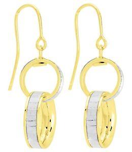 Boucles-d-039-oreilles-pendantes-en-or-jaune-et-blanc-18-carats-bijoux-femmes
