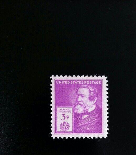 1940 3c Cyrus Hall McCormick, American Inventor Scott 8