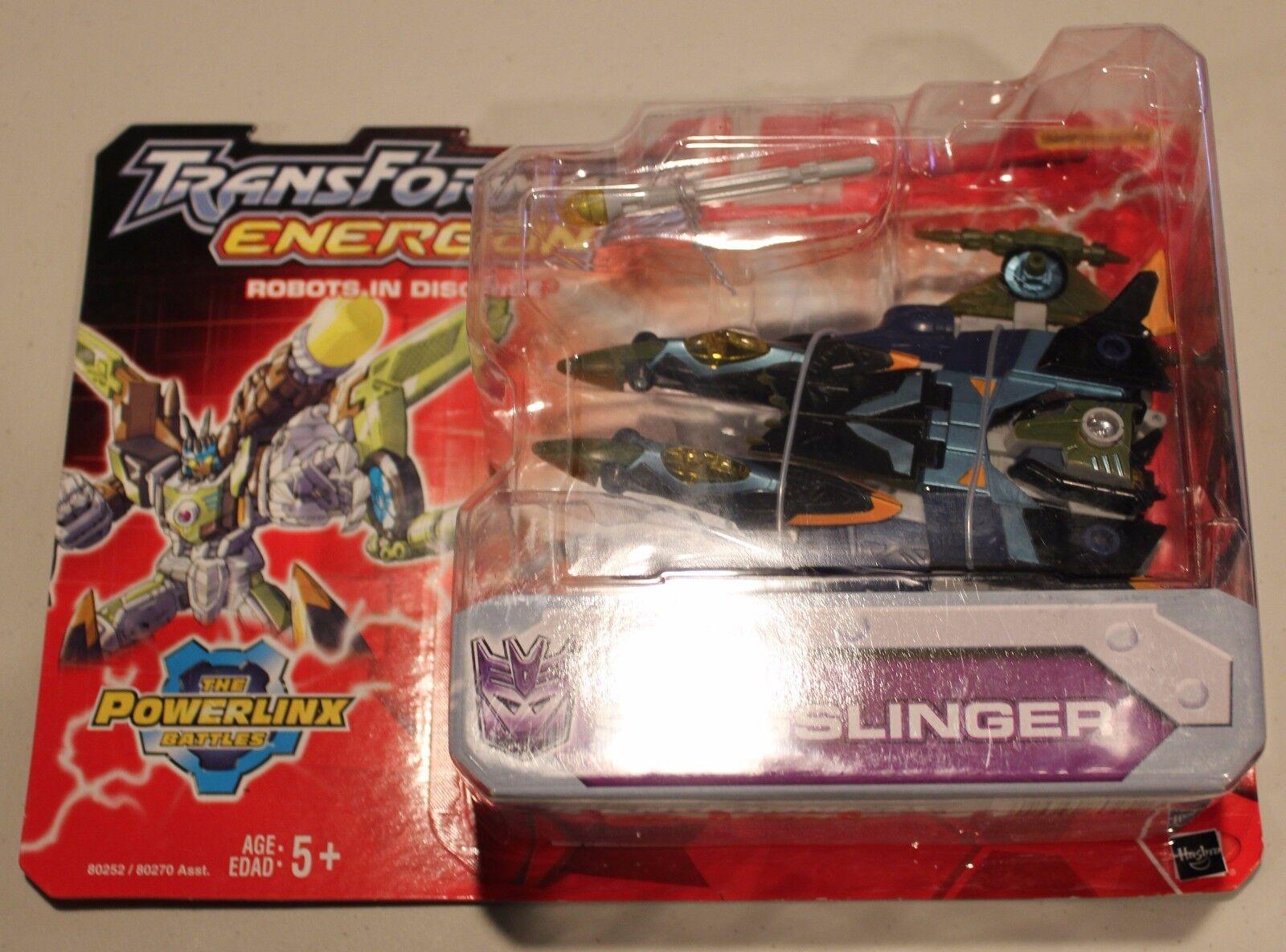 Transformers Energon Slugslinger Action Figure Hasbro New