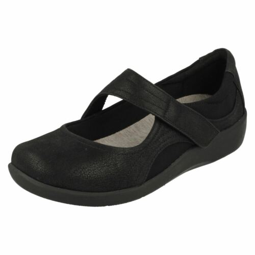 Sillian Chaussures Bella femme noir Cloudsteppers pour Clarks 511qgw6