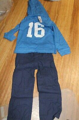 BNWT Transformers boys kid cotton Tshirt top 3//4 denim pants outfit set new