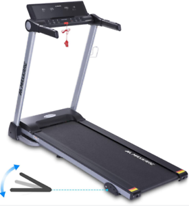 Adjustable Display Electric Treadmill Foldable Running Machine