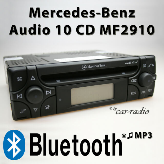 Mercedes Audio 10 CD MF2910 Bluetooth Autoradio MP3 Audio-Streaming RDS CD Radio