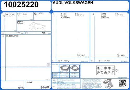 Genuine AJUSA OEM Replacement Cylinder Head Gasket Seal 10025220