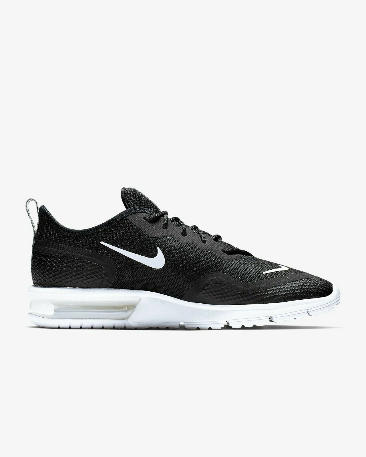[Nike] BQ8822-001 Air Max Sequent 4.5 Men Running shoes Sneakers Black