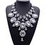Fashion-Elegant-Women-Bib-Crystal-Pendant-Statement-Chain-Chunky-Choker-Necklace thumbnail 53