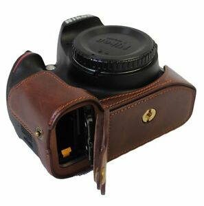 Image Is Loading Bottom Opening Pu Leather Camera Case Bag Cover