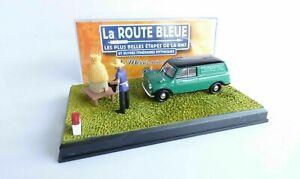 Morris mini van- Diorama l'apiculteur La Route Bleu étape 2 ixo / Altaya 1:43