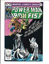 POWER MAN & IRON FIST # 87 (NOV 1982), FN/VF