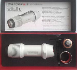 LED Lenser F1 Blanc - 500 Lumen - Coffret Cadeau