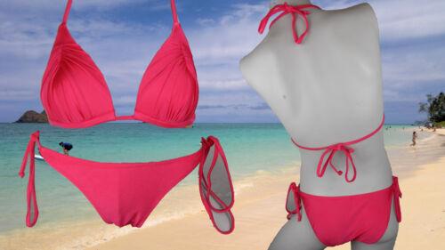 Bikini Costumi da bagno Beach Wear con allacciatura al collo Spiaggia Acqua di Mare Costume da Bagno Donna Estate