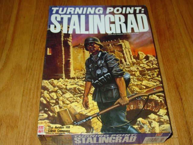 Avalon Hill 1989 -  TURNING POINT - STALINGRAD (1942 Eastern davanti) (PUN) 2nd Ed.  outlet online economico