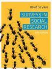 Surveys in Social Research by David De Vaus (Paperback, 2013)